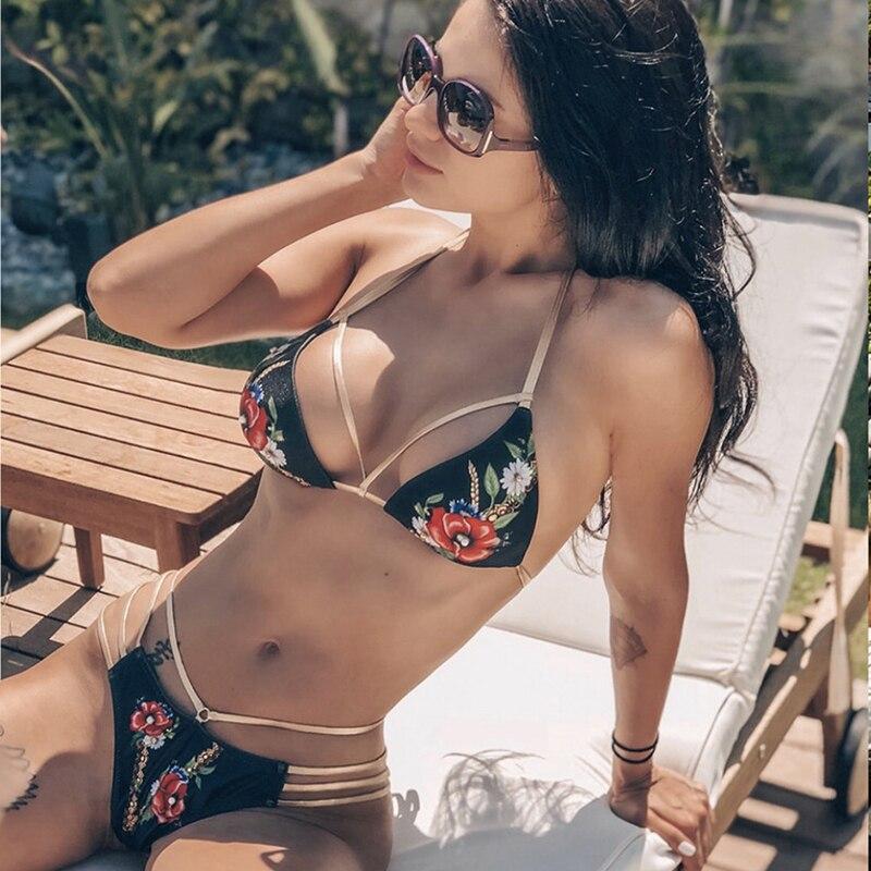 Sport & Unterhaltung Bikini-set Nett Sexy Tanga Bikini Set Frauen Push Up Biquini Bademode Vintage Floral Gedruckt Badeanzug Brazilian Bikini 2019 Frauen Badeanzüge Erfrischung