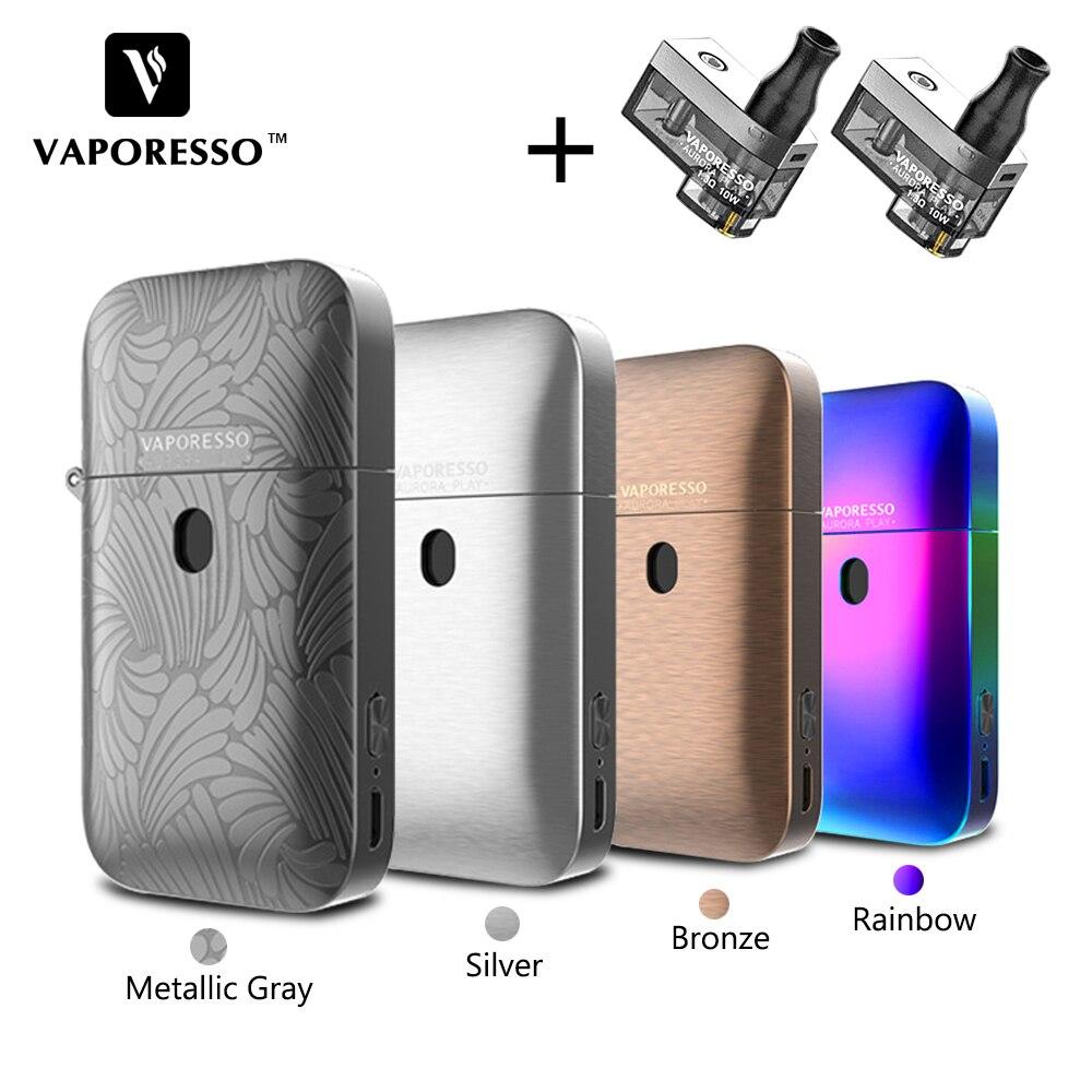 Kit de Vape pour dosette de jeu Original Vaporesso Aurora capacité Vape 2 ml dosette 650 mAh batterie intégrée conception de pressage à remplissage ZIPPO E-Cigarette