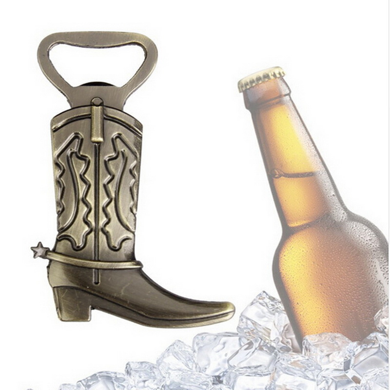 (12pcs/lot)FREE SHIPPING+Just Hitched Cowboy Boot Bottle Opener Antique Wedding&Bridal Shower Favors