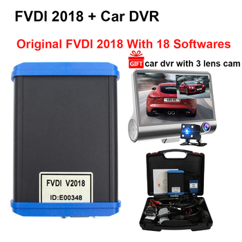 Newly FVDI 2018 ABRITES Commander with 18 Softwares Cover VVDI2 Avdi ABRITES Scanner No Limited  IMMO 4th5th Diagnostic Tool