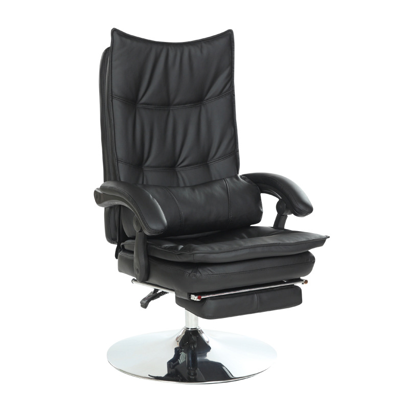 hick lift rotation massage chair modern simple office boss chair backrest adjustable with footrest comfortable computer chair Lift Beauty Chair Thicken Comfortable Computer Chair Beauty Salons Chair Reclining with Footrest Office Chair Rotation Steady
