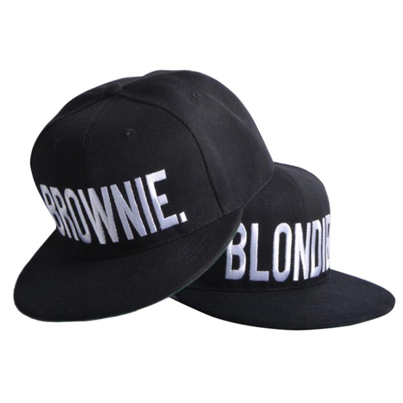 N BLONDIE BROWNIE Embroidery Hot Sale Snapback Hats Baseball Caps Hip-Hop Adjustable Gorras cotton girlfriend Women Gifts