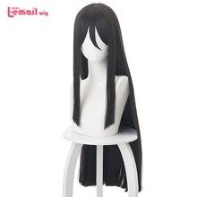 L-email wig Velvet Waver Cosplay Wig FGO Cosplay Lord El-Melloi II Long Dark Brown Hair Wigs Heat Resistant Synthetic Wig Peruca цена