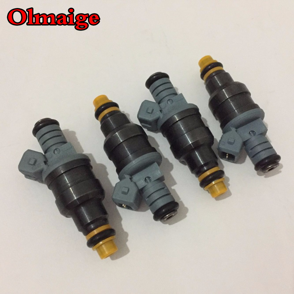 4pcs Free Shipping CNG 1600cc High Performance Fuel Injector 0280150842 0280150846 For Mazda RX7 Racing Car Truck
