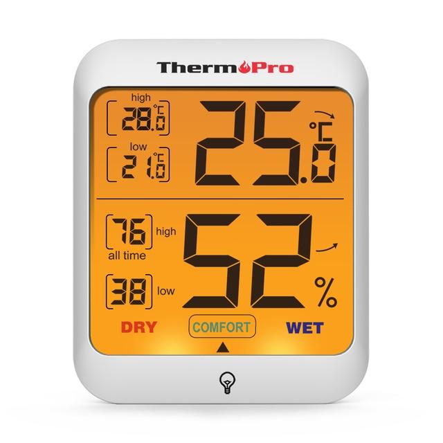 Thermopro TP53 Digital Indoor Termometri e Igrometri Stazione Meteo Termometro C