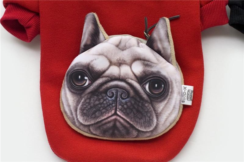 A35 kutya őszi téli pamut és bársony pulóverek - táska design - Pet termékek - Fénykép 4
