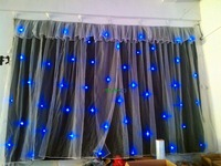 2*3m  christmas decorations led star curtain on