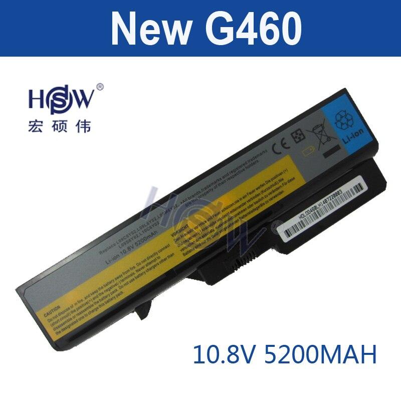 【Hsw ноутбука Батарея для Lenovo IdeaPad G460 G465 G470 ...