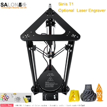 DIY Easy Assemble Kit T1/Z1 Metal 3d Printer High Accuracy Reprap i3 3d Printer With Filament Auto Feeding Large Printing Size wanhao d5s mini desktop 3d printer with high performance and accuracy industrial level with printing size 290 190 190mm