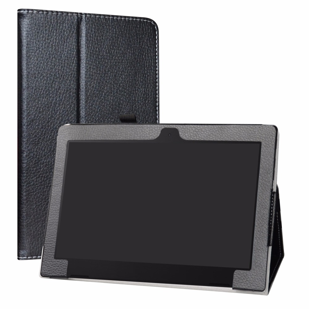 Case Tablet Lenovo D330 Cover Elastic-Closure PU for Lenovo/Ideapad/D330/Tablet Folding-Stand