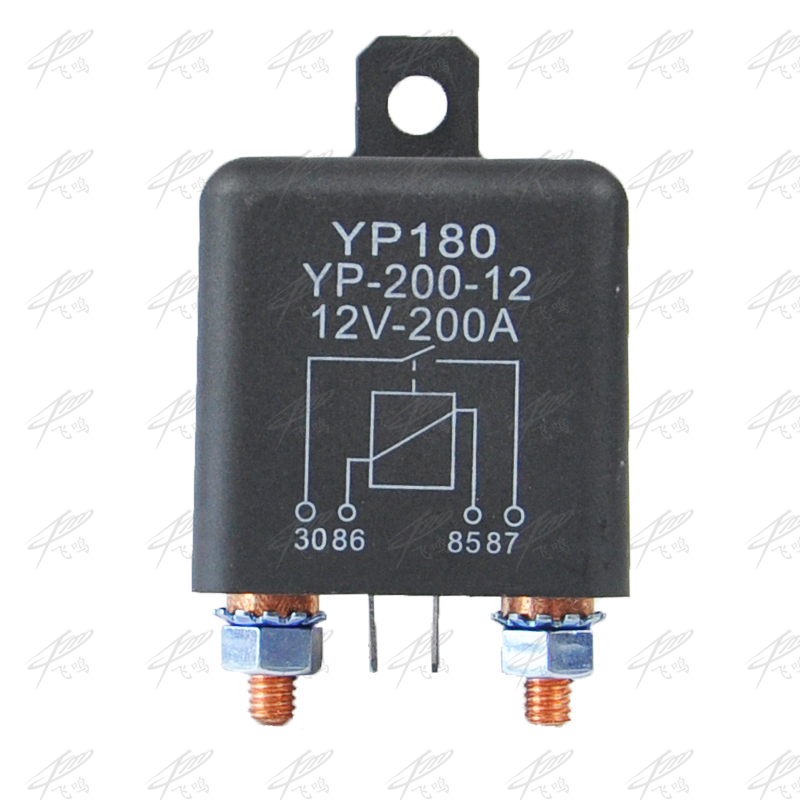 High Power Car Relay 12V DC 200A Car Truck Motor Automotive Switch Car Relay Continuous Type Automotive Relay Car Relays dc12v 30a 4 pins electronic relay car automotive relay with insurance film car bike auto fused on off relays