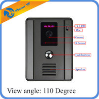 For Wired Video Door Phone Intercom Entry System 1 Color Wide Angle Night Vision 2 5mm
