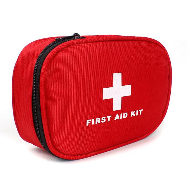 Outdoor Travel First Aid kit Mini Car First Aid kit bag Home Small Medical box Emergency Survival kit