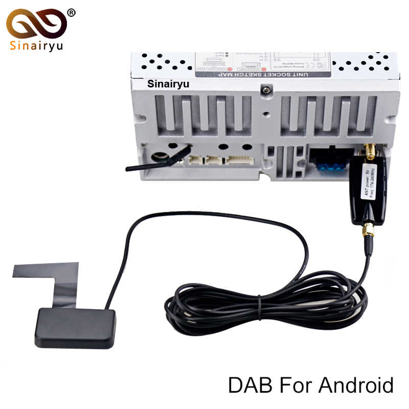 Car DVD DAB/DAB+ usb dongle Tuner/Box USB Digital Audio Broadcasting Receiver include Antenna Works For Europe
