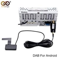 Araba DVD DAB/DAB + usb dongle Tuner/Kutu USB Dijital Ses Yayın Alıcısı dahil Anten Için Çalışır avrupa
