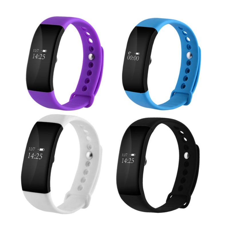 New V66 Smart Band for IOS Android OLED Screen Bluetooth 4 0 Sport Pedom Heart Rate