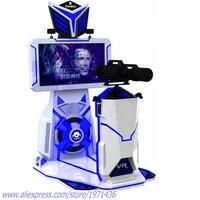 Body Feeling Somatic Amusement Equipment 9D VR Gun Shooting Game Machine