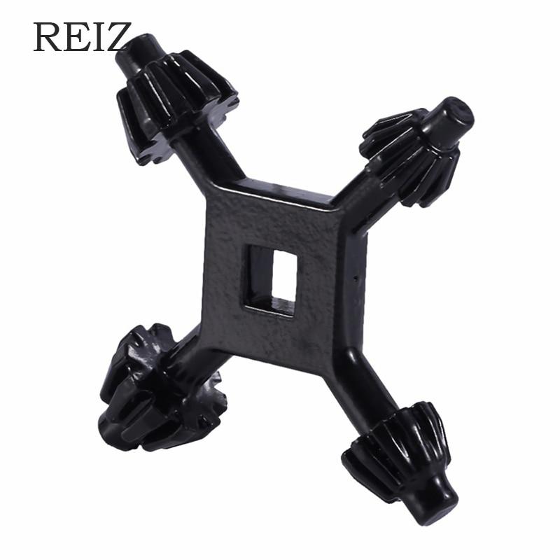 """REIZ Drills Chuck Key 4 Way Drill Press Chuck Dey 3/8"""" 1/2"""" Chucks Universal Combination Hand Tool Accessories 4 in 1 Fit Drill(China)"""