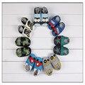 Nueva Marca de Bebé Zapatos de Los Muchachos de Los Animales Perro de Cuero de Vaca de Diseño Zapatillas de Deporte Del Bebé Mocasines Diseñador Kids Shoes Envío Gratis