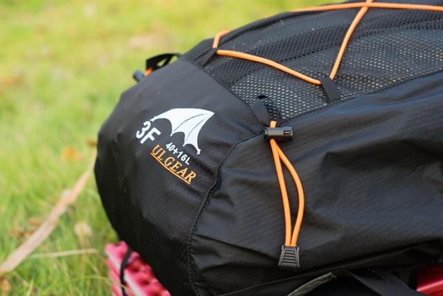 3F UL Gear Lightweight Backpack Trekking Rucksacks 40+16L 4