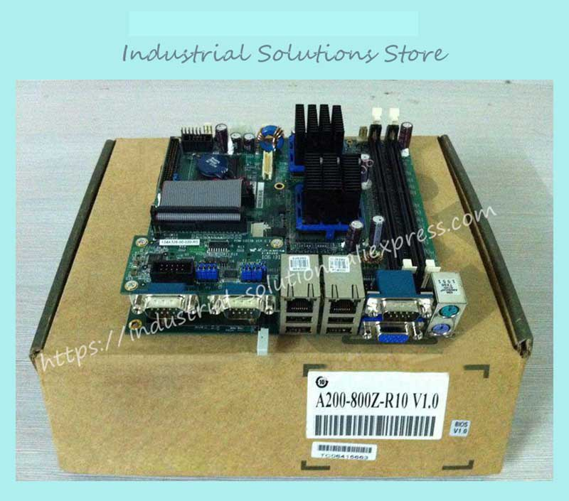 все цены на A200-1GZ 800mz lpx Inlining Pos Machine Motherboard IPC Board 100% tested perfect quality онлайн