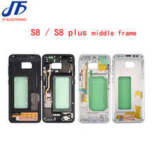 5pcs/lot For Samsung Galaxy S8+ S8 Plus G955 G955F Housing LCD Display Middle Frame Midframe Bezel Chassis Plate - DISCOUNT ITEM  2% OFF Cellphones & Telecommunications