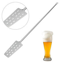 Wine Mash Tun Mixing Stirrer Stainless Steel Paddle Homebrew With 15 Holes Home Kitchen Bar Beer Wine Brewing Tools  Barware household brewing machine 30l commercial beer mash kitchen equipment homebrew beer device 220v 2500w 1pc