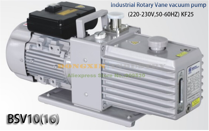 Подробнее о BSV10 High Reliable vacuum pump Industrial Rotary Vane Vacuum Pump 220V 0.4KW KF25 new 110v 60hz high reliable hvac rotary vane vacuum pump tw 1m suitable for r410a r134a r22 r407c r12