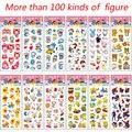 Juguetes de los niños de la historieta pegatinas niños juguetes kindergarten Recompensa Pegatinas pegatinas de burbuja pegatinas de dibujos animados de la primera infancia juguetes para bebés