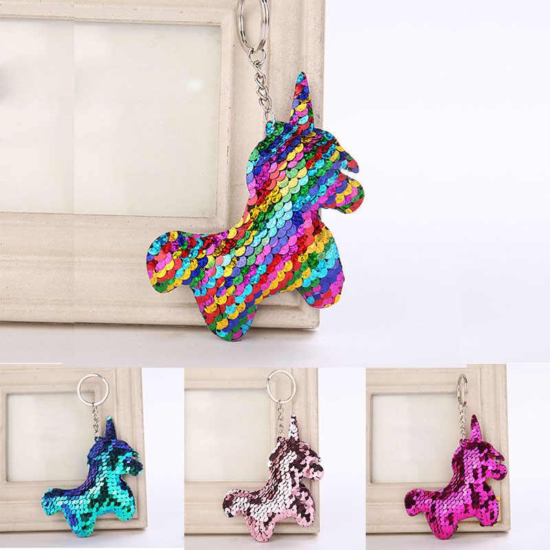 Unicornio Unicórnio Kawaii Chaveiro Brinquedos de Pelúcia Bichos de pelúcia Macia de Brinquedo Crianças Bag Pendure Pingente Meninas Páscoa Presente do Dia Dos Namorados