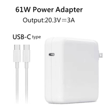 Youpin 61W 20.3V 3A USB-C Power Adapter Type-C PD Charger For Latest Macbook pro 13 inch A1706 A1707 A1708 A1718