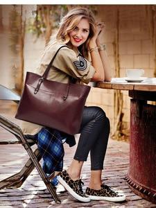 Image 4 - SWDF sac à main en cuir pour femmes, fourre tout de styliste grande capacité, sacs à bandoulière loisirs mode, fourre tout