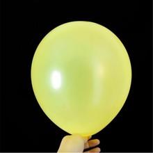 air ball 50pcs/lot1.8g pearl latex yellow ballon new year decors baloons babyshower birthday balloons wedding supplies wholesale