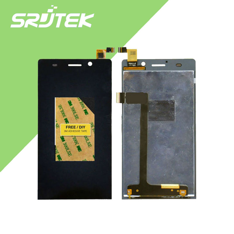 Original 5 inch LCD Screen Digitizer + Touch Screen For ARCHOS 50C Oxygen LCD Screen