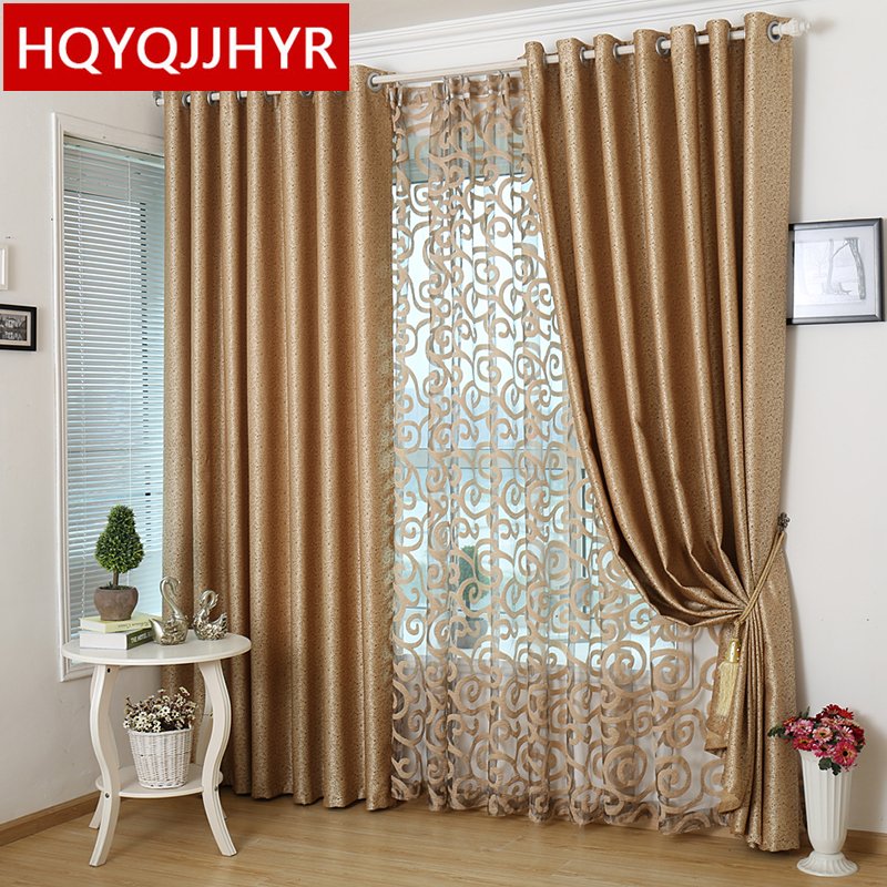 Good Online Get Double Curtains For Bedroom Aliexpress