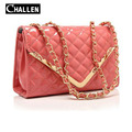 high quality luxury handbags leather women bags designer brand quilted chain crossbody messenger bag female evening clutch bags