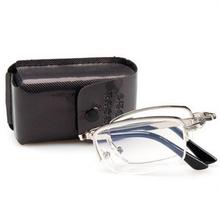 Caleidoscópio Dobrável Óculos de Leitura Leitor de óculos de Meia Armação  Óculos de Resina Anti-fadiga Hipermetropia Óculos lens. 16d219eeed