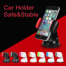 360 Rotation Adjustable Phone Car Holder for iPhone Windshield Car Mount Phone Stand Car Holder For Samsung S9 For Huawei P20 стоимость