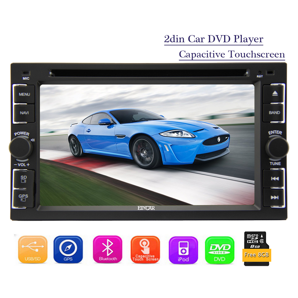 7 Double 2DIN Car DVD MP5 Player Bluetooth Touch Screen Stereo Radio Support HD 1080P Video Autoradio In Dash Head Unit GPS NAV