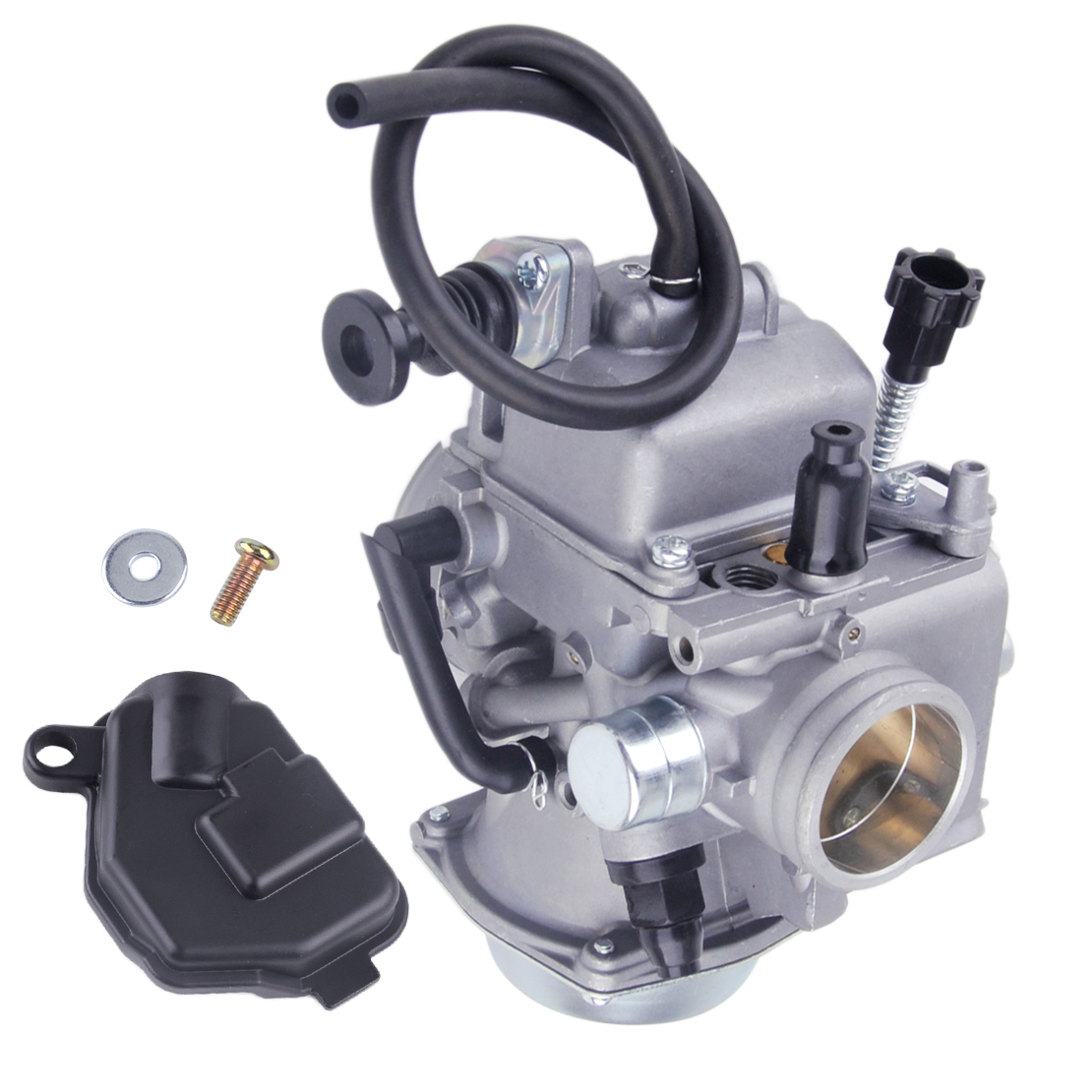 beler Carburetor Cab with 3 Rubber Tube Fit for Honda TRX250 TRX 250 Fourtrax ATV Carb 1985 1986 1987
