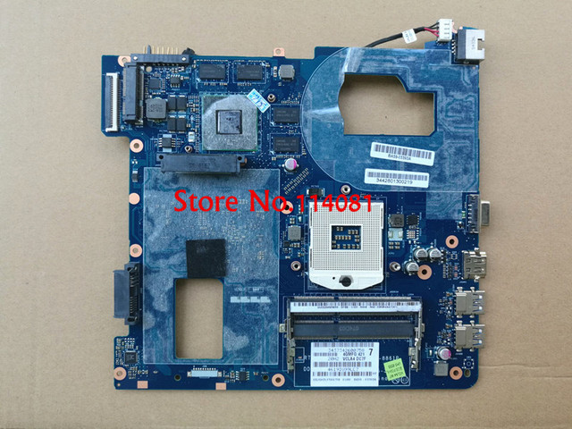 Para samsung np350v5c notebook motherboard la-8861p ba59-03397a 7600 m/2g, disponível NOVO