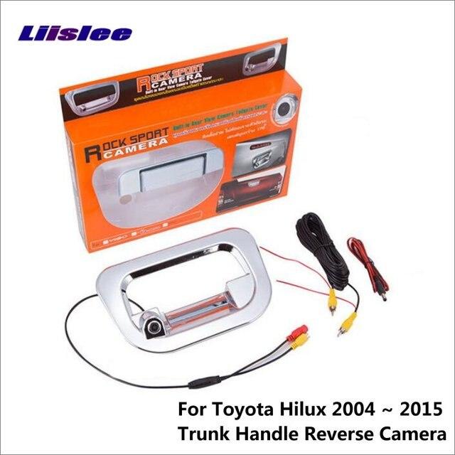 Liislee Auto Reverse Rückfahrkamera Für Toyota Hilux Vigo Pickup ...