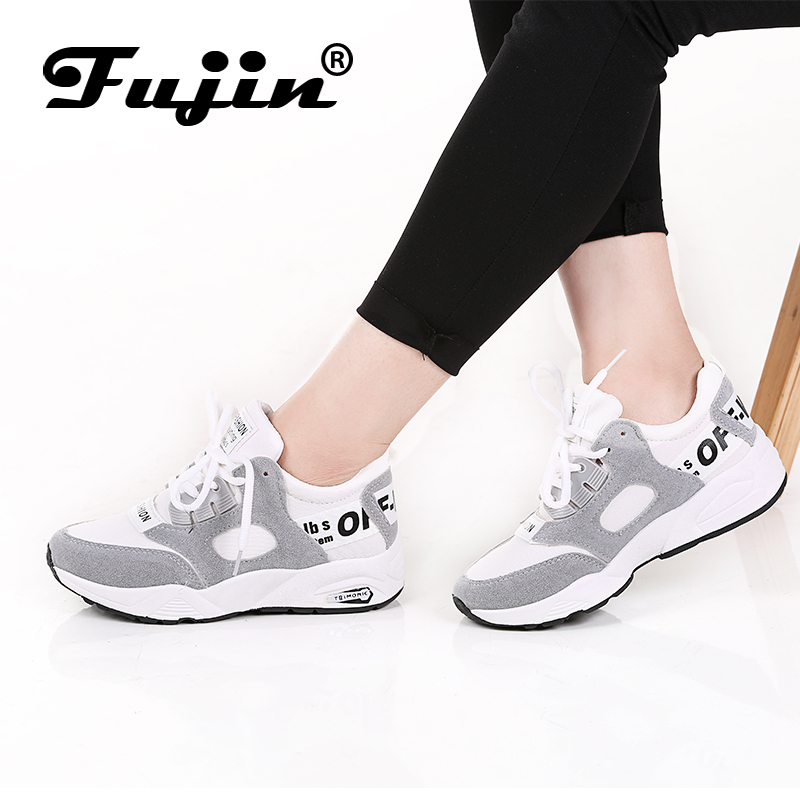 Fujin Brand Spring Autumn Women Shoes Flat Sneakers Female Loafers Soft Casual Flats Shoes Female Zapatillas Mujer Espadrilles summer sneakers fashion shoes woman flats casual mesh flat shoes designer female loafers shoes for women zapatillas mujer