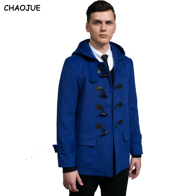 CHAOJUE XXXL Male design short mens duffle coat 2016 spring nice ...