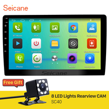 Seicane Android 6.0 10.1 inch Universal car Radio GPS Navigation Player with Bluetooth 3G WIFI Support DVR Backup Camera