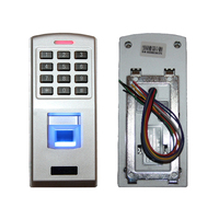 500 users Biometric keypad password Fingerprint access controller reader finger scanner machine EM card lock(no RFID)