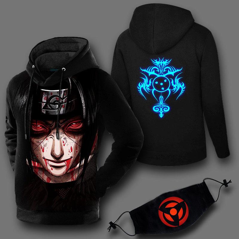 Naruto Uzumaki Sweatshirt Hoodies with mask