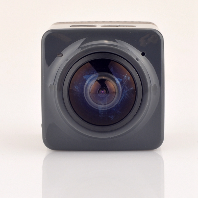 2016 new hot sale actiong camera CUBE 360 720P 360 degree Panoramic VR Camera Build in