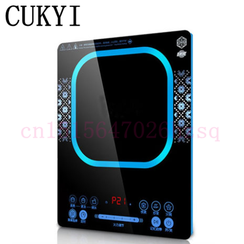 CUKYI Induction Cooker household Hot pot special small smart home electromagnetic oven Hot pot battery furnace power saving traditional carbon burning charcoal hot pot thickened hot pot furnace boiler stainless steel hot pot furnace for 6 9 people