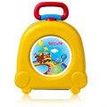 2016 Nuevo Bebé Potties niños viajan pequeño Coche portable Niños cuclillas wc esencial al aire libre entrenadores orinal inodoro 2 Colores